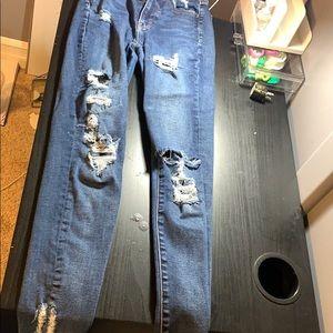 size 0 america eagle jeans